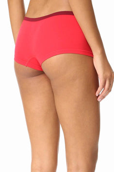 Calvin Klein Evocative-Red/Sensuous Pure Seamless Boyshort