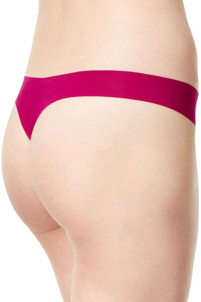 Calvin Klein Fathom-Mulberry Invisibles Thong - CheapUndies.com