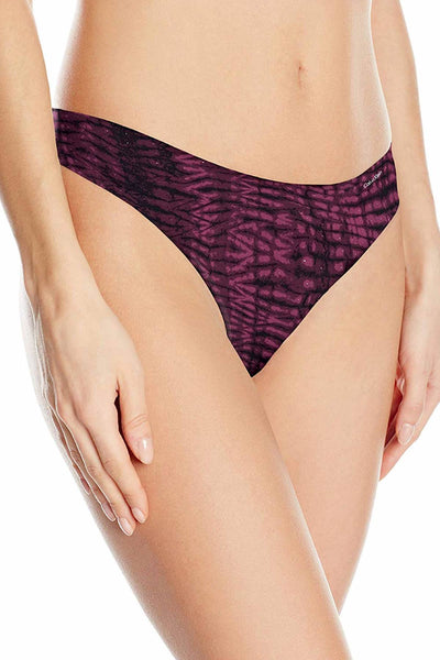 Calvin Klein Mysterious-Skin Invisibles Thong - CheapUndies.com