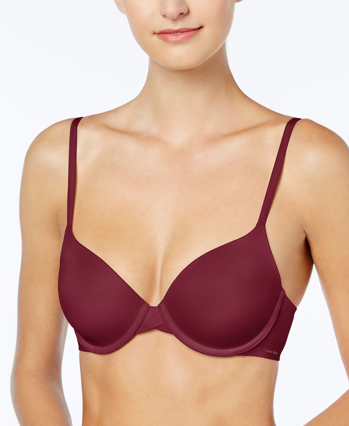 Calvin Klein Perfectly Fit Full Coverage T-shirt Bra F3837 Raspberry Jam