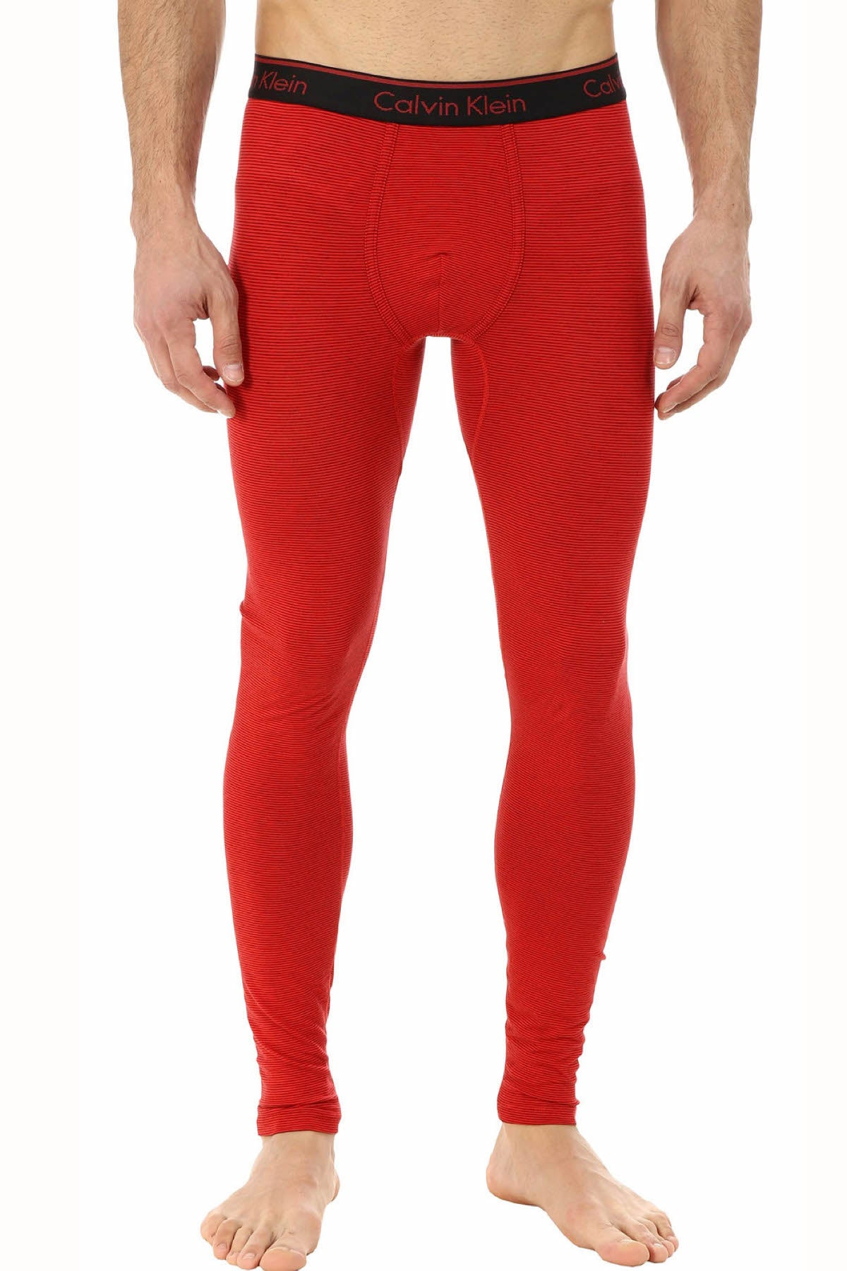 Calvin Klein Red-Stripe Special-Edition Base Layer Pant