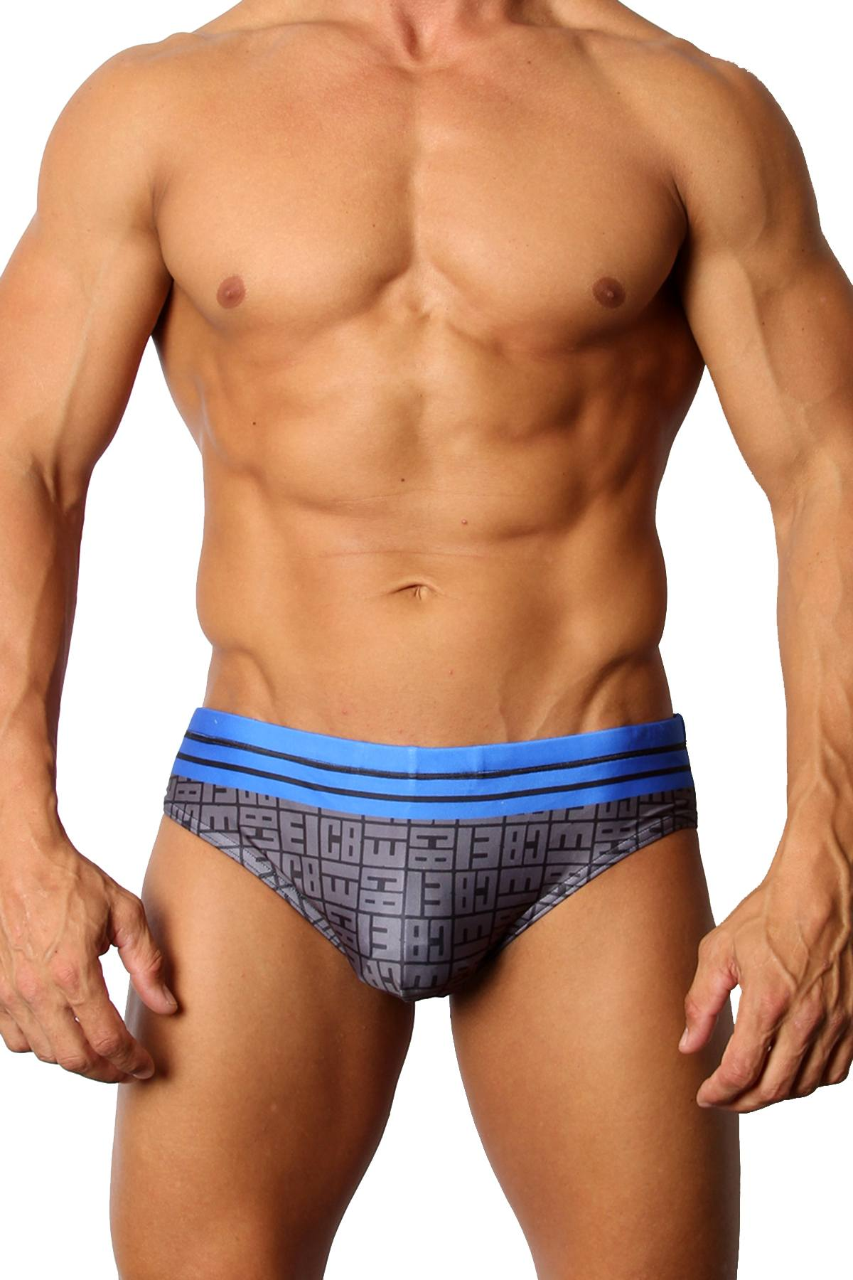 CellBlock 13 Icon Swim Brief in Blue