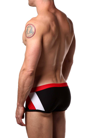 CellBlock 13 Red Sidewinder Swim Trunk
