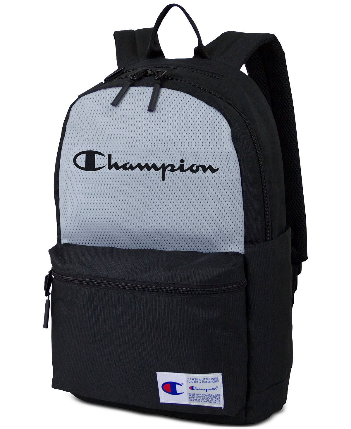 Champion Colorblocked Backpack Black/grey