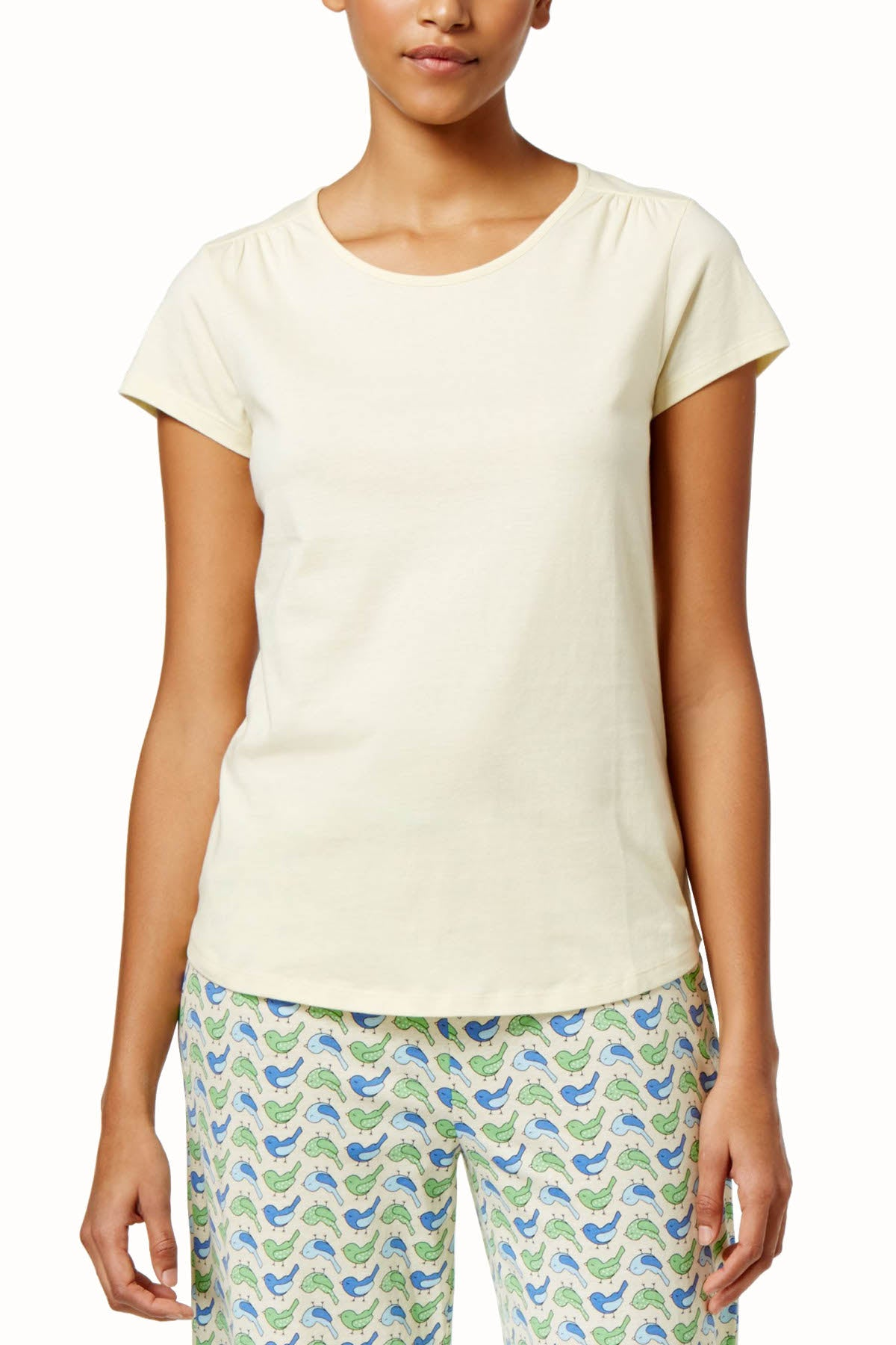 Charter Club Intimates French-Butter Scoop-Neck Lounge Tee
