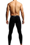 CheapUndies Black Contour Pouch Long Underwear