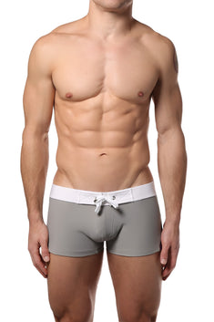 CheapUndies Grey Sport Swim Trunk