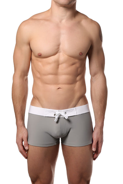 CheapUndies Grey Sport Swim Trunk - CheapUndies.com