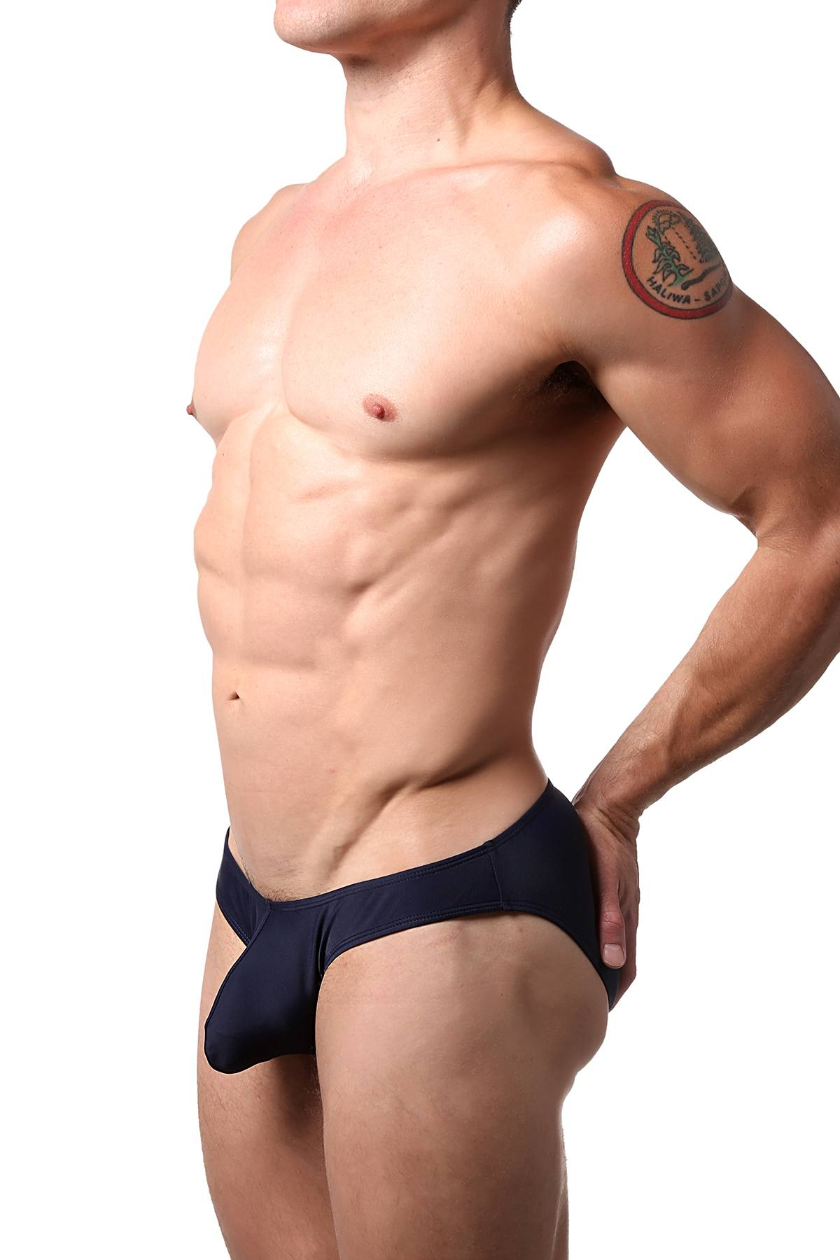 CheapUndies Navy Bikini Brief