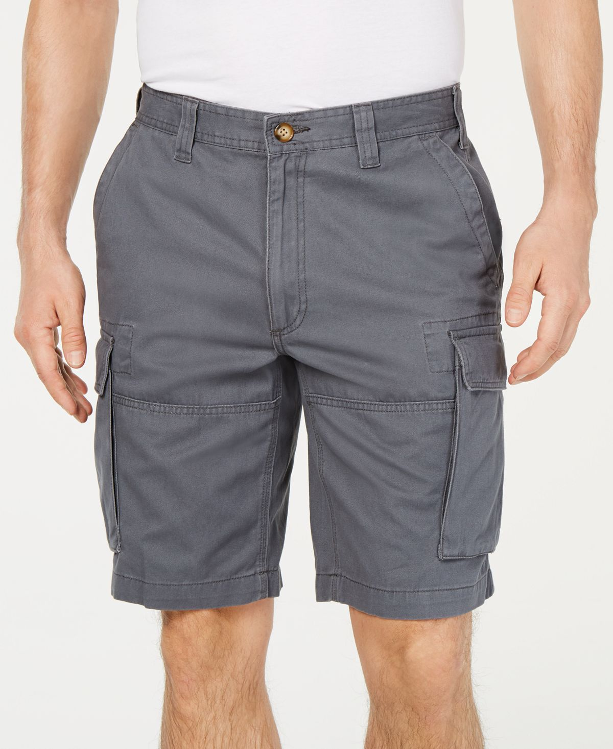 "Club Room 10"" Cargo Shorts Shadow Ground"