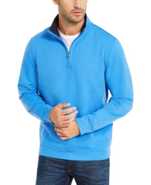 Club Room Men's Stretch 1/4-Zip Fleece Sweatshirt