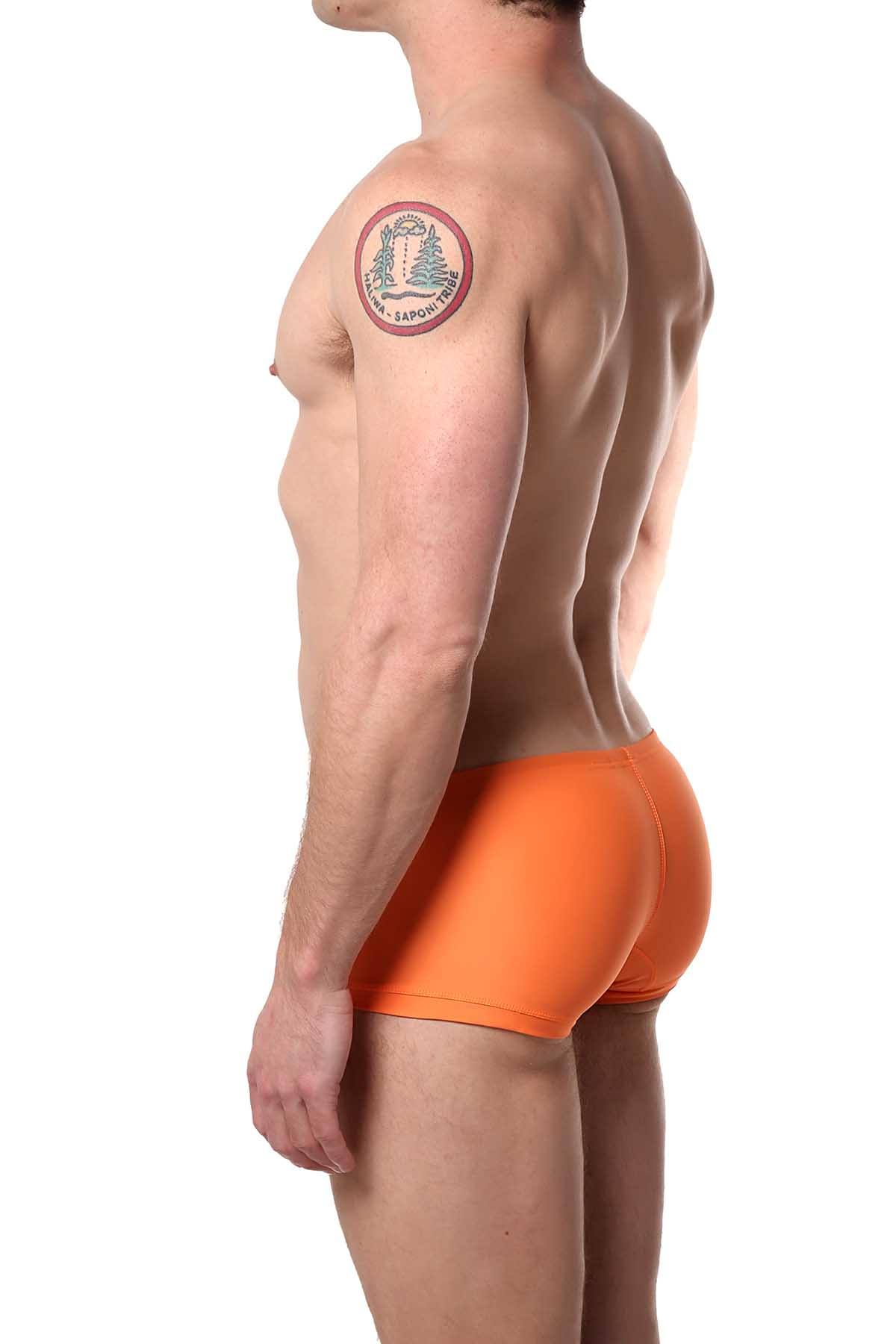 14f1ef4153 Cocksox Sweet-Orange Contour-Pouch Swim Trunk | CheapUndies
