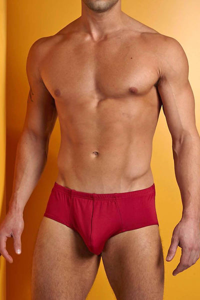 Contour Red Micro Basic Brief - CheapUndies.com