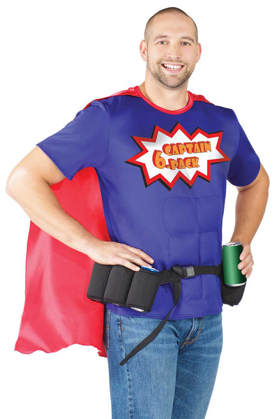 Coquette Captain 6-Pack 2.0 Costume