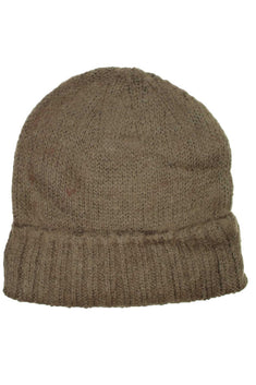 DIBI Brown Knit Beanie