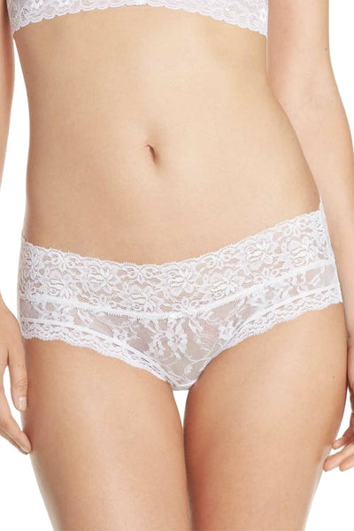 DKNY White Signature Lace Bikini Brief - CheapUndies.com