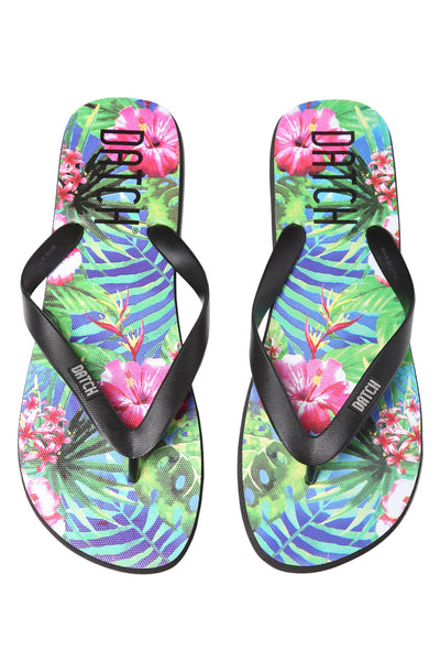 Datch Tropical Flip Flops - CheapUndies.com