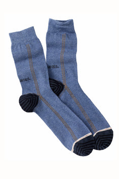 Diesel Blue Dark Denim Ray Socks