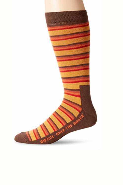 Diesel Brown & Mustard Joel Socks - CheapUndies.com