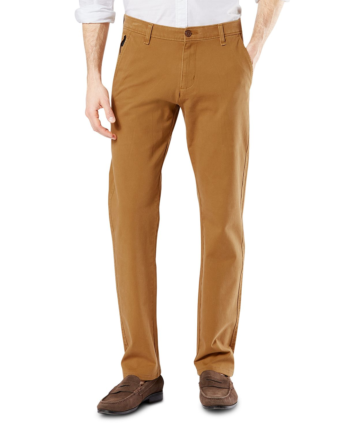 Dockers Ultimate 360 Slim-fit Chino Pants Dark Ginger