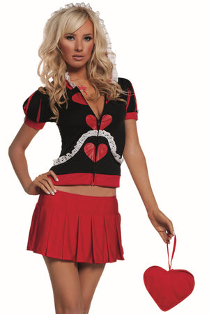 Elegant Moments 5pc Wonderland Queen Costume