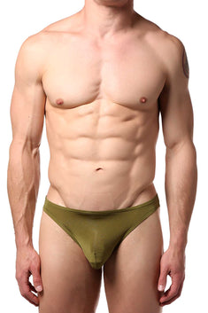Extreme Collection Army Sheer Brief