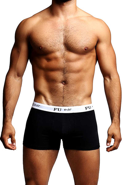 FU E=FU8 Black Pleasure Pouch Trunk - CheapUndies.com