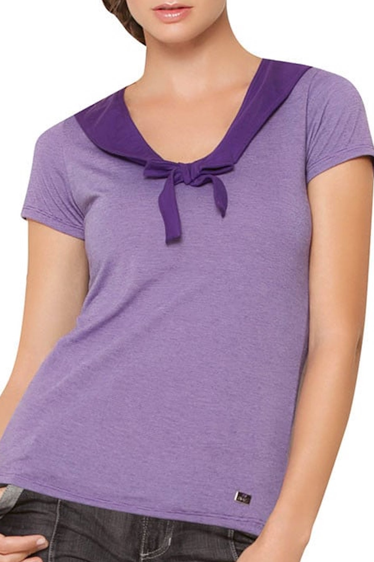 Fiory Purple Sailor Alba Top