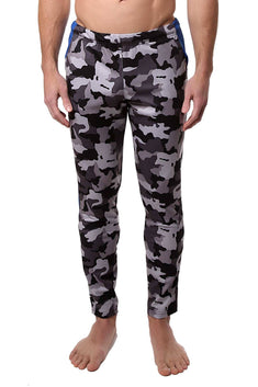 Freedom Reigns Grey-Camo/Black/Cyan Contrast Pant