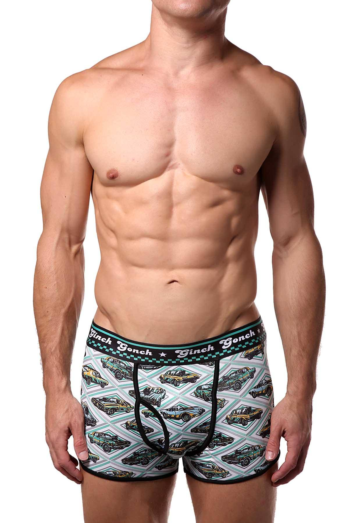 Ginch Gonch Vintage-Cars Sports-Brief (Trunk)