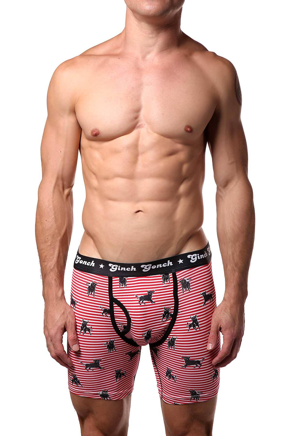 Ginch Gonch Wild-Bulls Boxer Brief