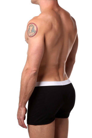 Go Softwear Black Padded-Rear Boxer Brief