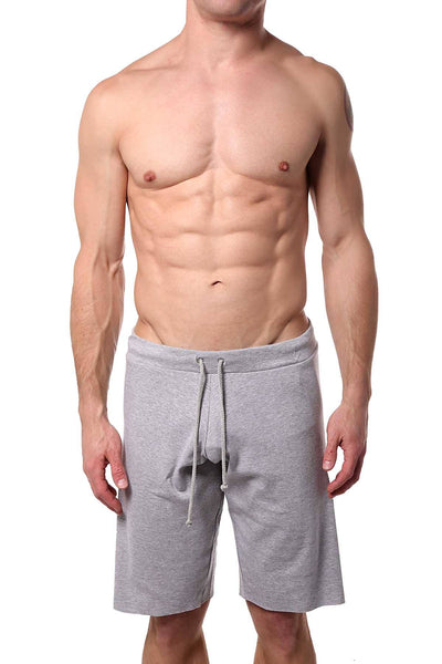 Go Softwear Heather-Grey 16-Inch Cut-Off Short - CheapUndies.com