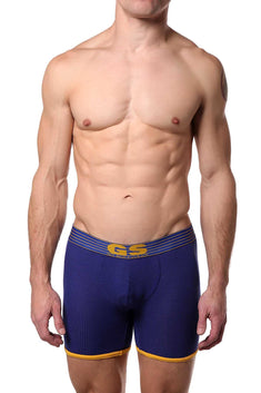 Go Softwear Royal/Yellow Pop Volt Reveal Boxer-Jock