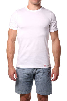Go Softwear White No-Sweat Tee