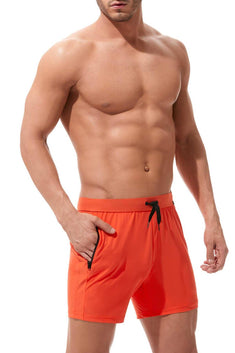 Gregg Homme Orange Exotic Swim Short