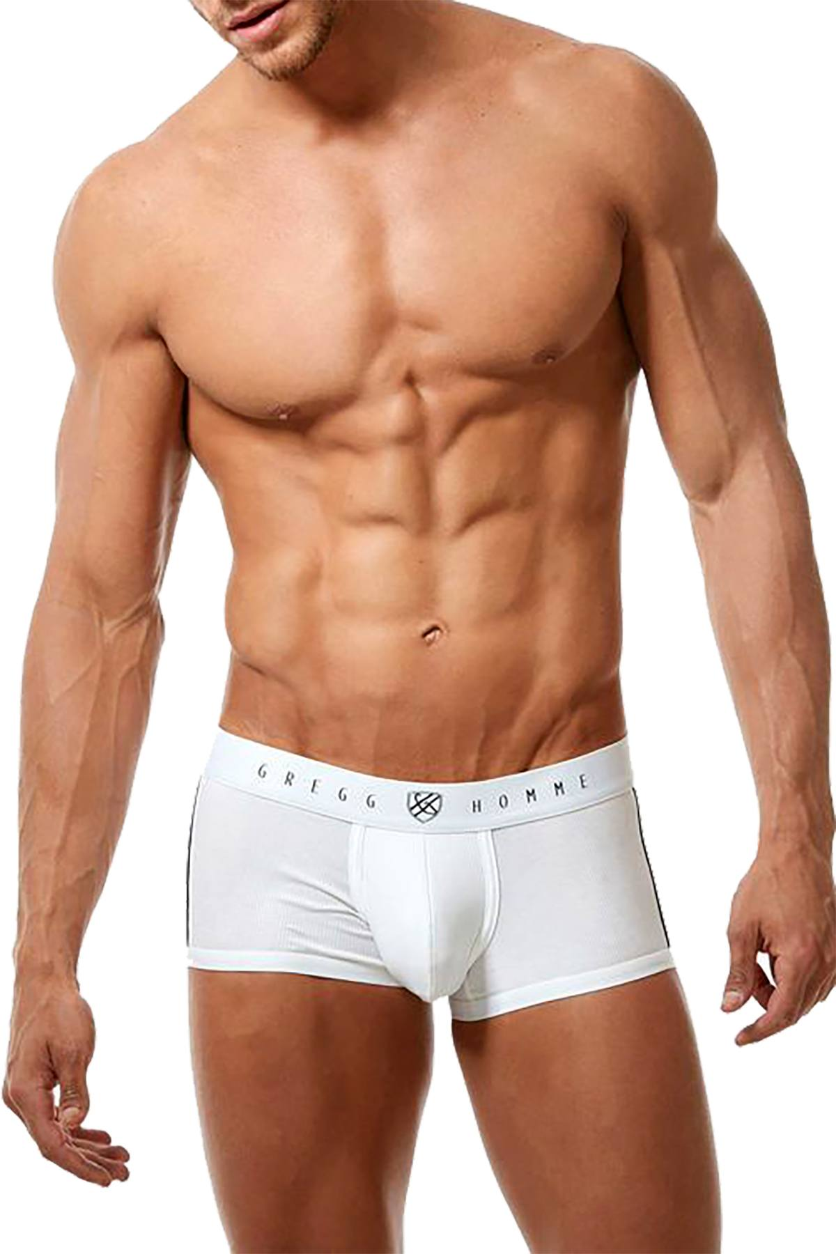 Gregg Homme White Menz Boxer Brief
