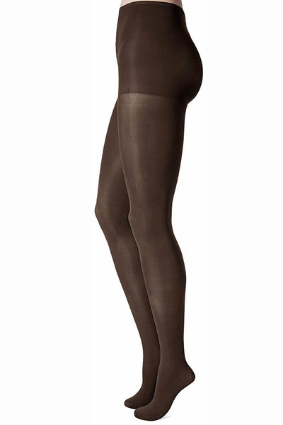 Hanes Mocha PLUS Shapes/Smoothes X-Temp Everyday Opaque Tights - CheapUndies.com