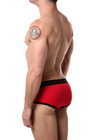 HardCore by GoSoftwear Red Edge Full-Cut Brief
