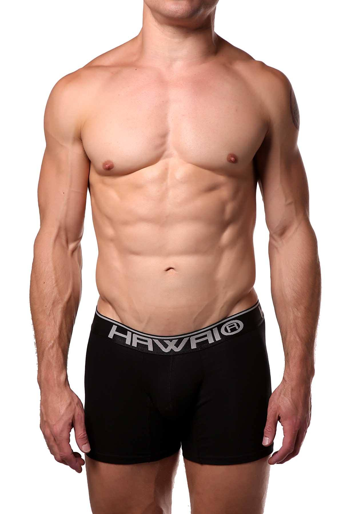 Hawai Black Boxer Brief