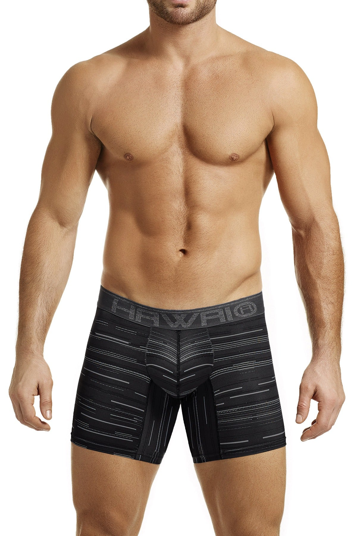 Hawai Black Psyche-Digital Printed Boxer Brief