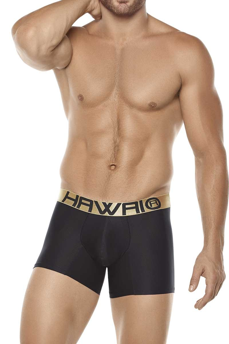Hawai Black Stretch Boxer Brief