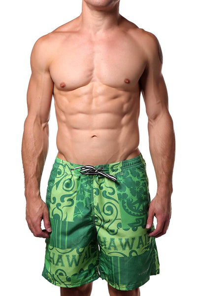 Hawai Green 51703 Swim Trunk Short