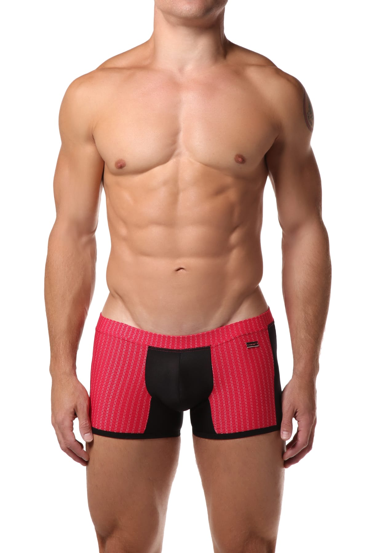 Hunk² Red/Black Apollo Feu² Boxer Trunk