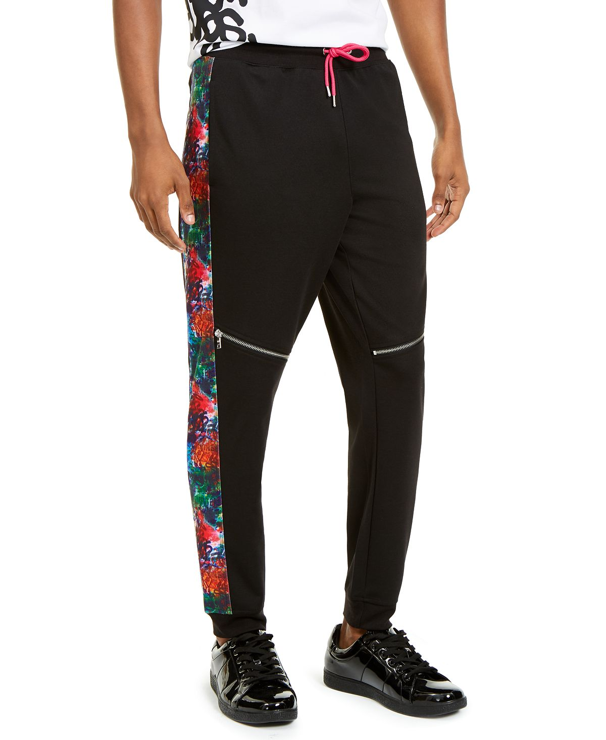 Inc International Concepts Inc Spotlight Jogger Pants Deep Black