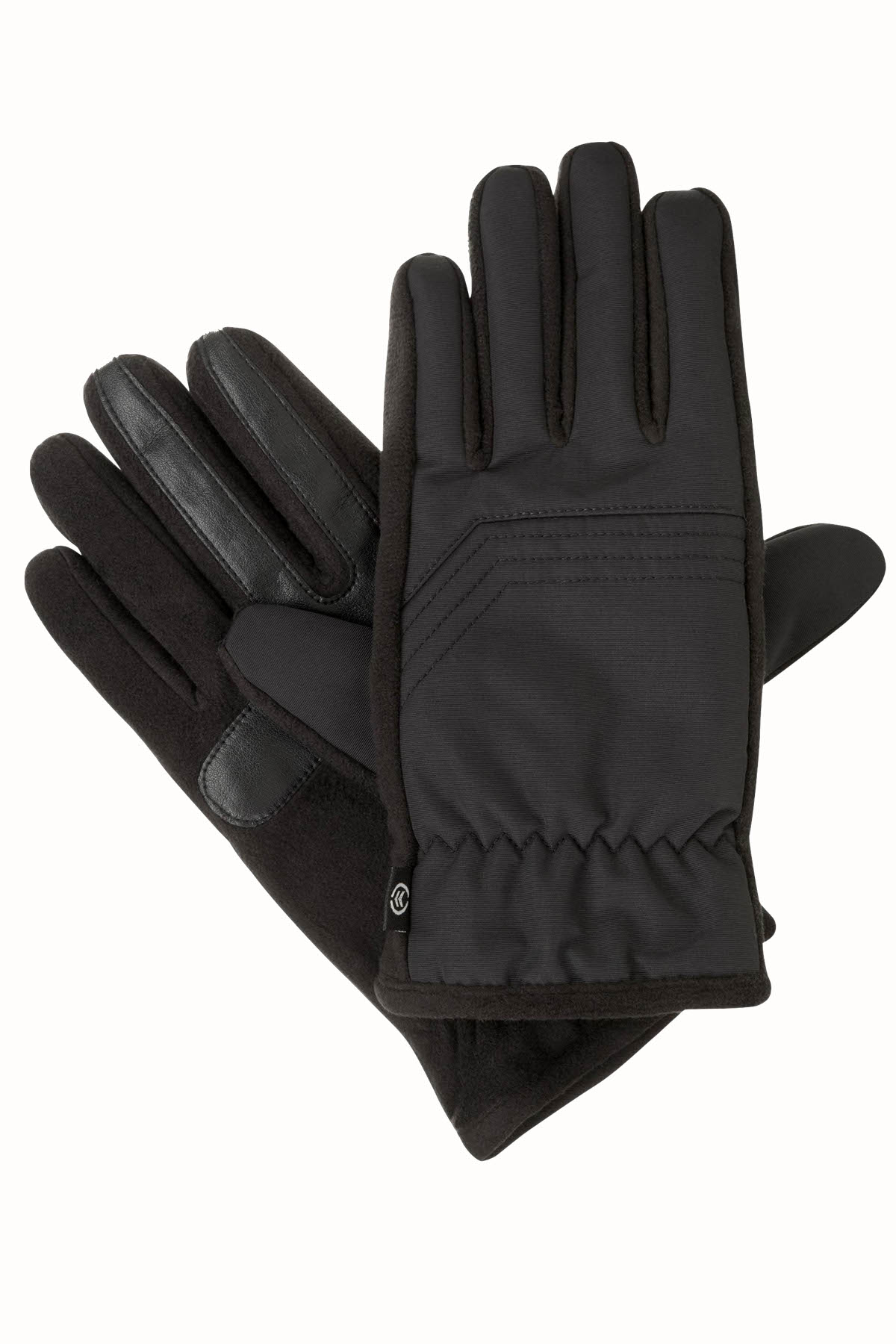 Isotoner Signature Black THERMAflex™ CORE SmarTouch Touchscreen Gloves - Large