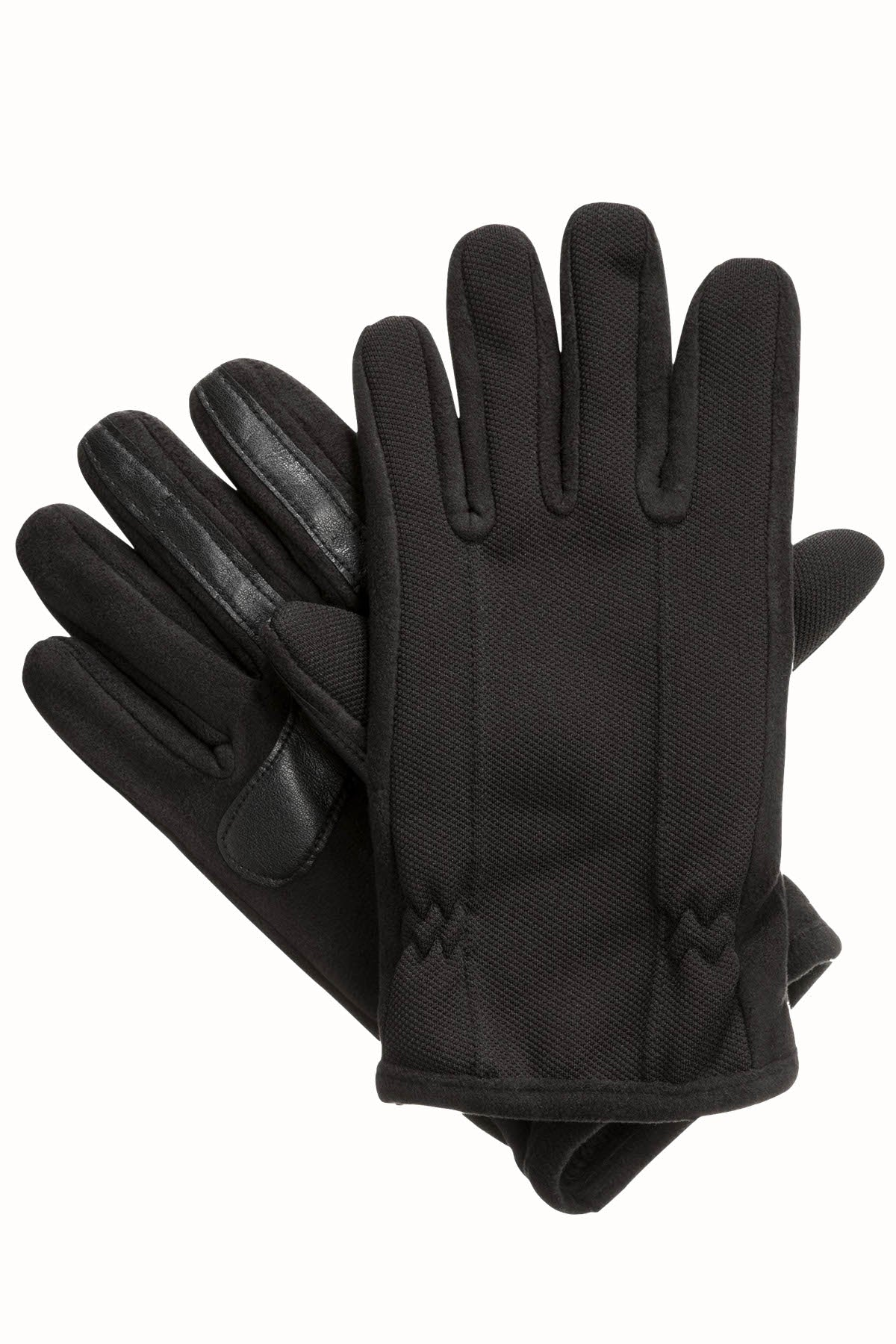 Isotoner Signature Black THERMAflex™ SmarTouch Tech Stretch Gloves