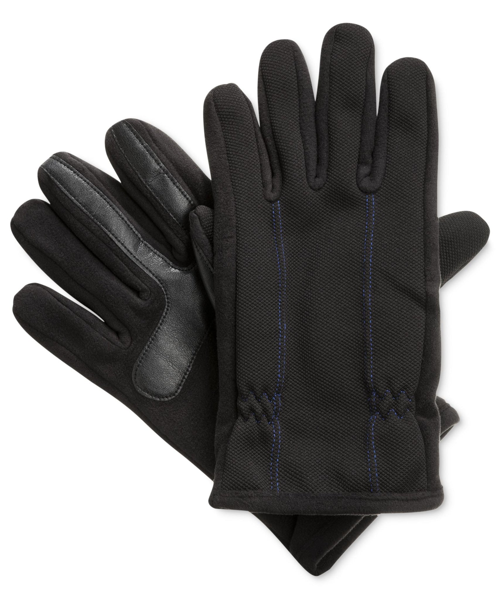 Isotoner Signature Blue THERMAflex™ SmarTouch Tech Stretch Gloves - Medium