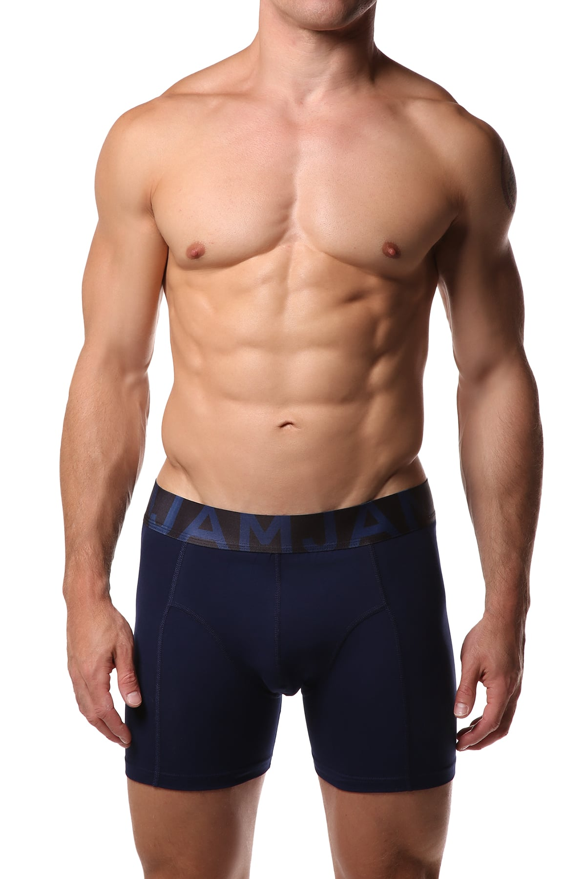 Jam Navy Boxer Brief