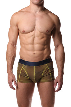 Jam Yellow Print Boxer Trunk